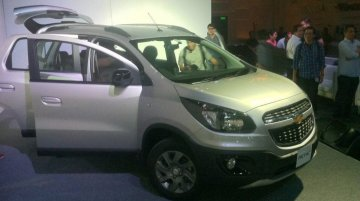 Indonesia - Rugged-looking Chevrolet Spin Activ MPV launched at Rs 10.72 lakh