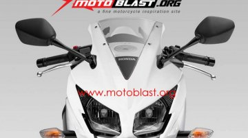 Report - New Honda CBR150R with split headlamps on its way
