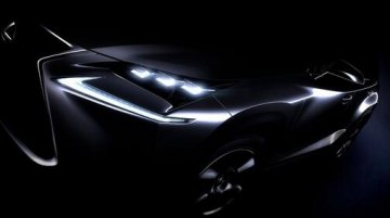 IAB Report - Lexus NX compact SUV teased ahead of its Beijing Auto Show debut
