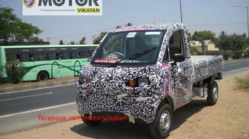 Spied - Mahindra P601 light truck spotted for the first time