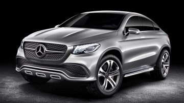 IAB Report - BMW X6 rivaling Mercedes Concept Coupe SUV revealed