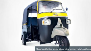 Report - Piaggio Apé City diesel autorickshaw launched at Rs 1.8 lakh