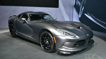 New York Live - SRT Time Attack on Anodized Carbon Special Edition Viper