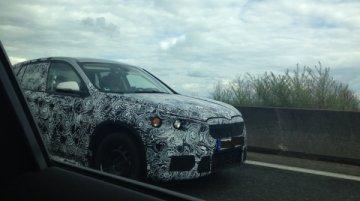 2016 BMW X1 Spy