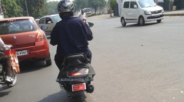 Spied - Mahindra's 110 cc Activa rival caught on test