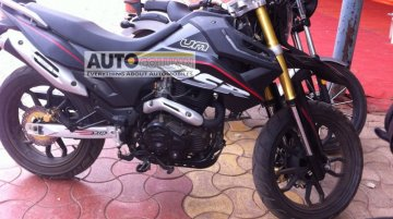 Spied - UM Hypersport 2015 caught testing in Pune