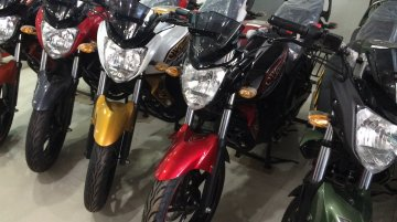 Yamaha FZ Series new shades - Live Images
