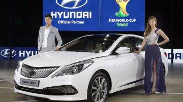 Hyundai Grandeur facelift/diesel