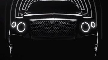 Report - Bentley Bentayga is the name of new luxury SUV?