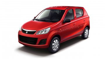 IAB Rendering - Maruti Alto 800 facelift front & rear