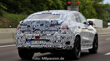 Spied - Mercedes ML Coupe; to be launched in 2015