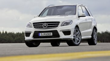 IAB Report - Mercedes Benz India to launch ML63 AMG on May 15