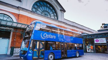 UK - Ashok Leyland owned Optare launches double decker bus for London
