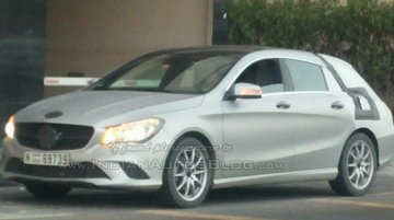 Mercedes CLA Shooting Brake - Spyshot Gallery