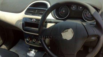 Fiat Punto facelift spied