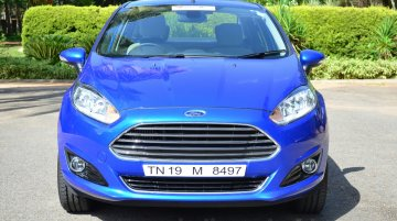 2014 Ford Fiesta facelift - Image Gallery (India-spec, 1.5L diesel)