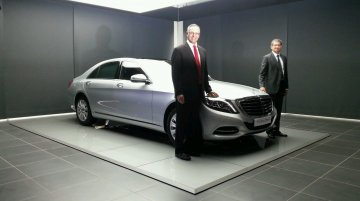 IAB Report - 2014 Mercedes S Class diesel launched at INR 1.07 crores