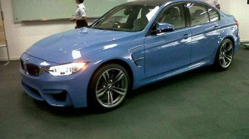 Malaysia - 2015 BMW M3 arrives at dealers; Indian launch this year
