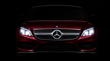 IAB Report - India-bound Mercedes CLS facelift teased with MultiBeam LED lights