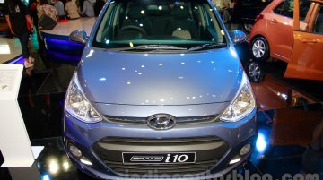 Hyundai Grand i10 at the 2014 Indonesia International Motor Show