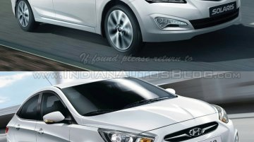 Old vs New - Hyundai Verna facelift compared with the pre-facelift