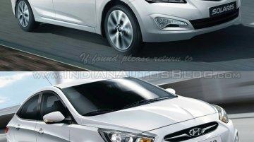 Hyundai Verna vs Hyundai Verna facelift