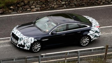 Spied - Jaguar XJ facelift to get revised front and rear fascias