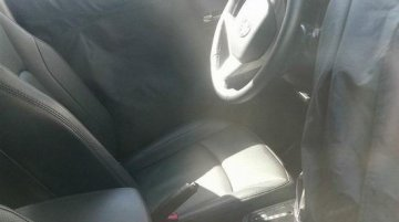 Spied - Ssangyong X100 mini SUV reveals interiors partially in China