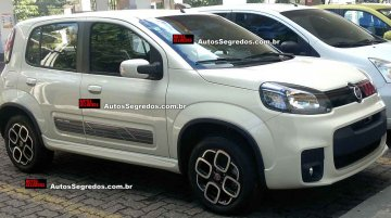 Brazil - 2015 Fiat Uno Sporting (facelift) spied up close