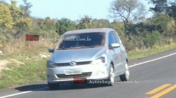 Brazil - 2015 VW Fox without camouflage spied ahead of an imminent launch