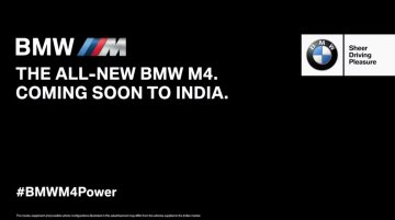 IAB Report - BMW India begins teasing the M4 ahead of its launch