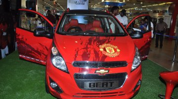 IAB Report - Manchester United Special Edition Chevrolet Beat and Sail launching on July 7