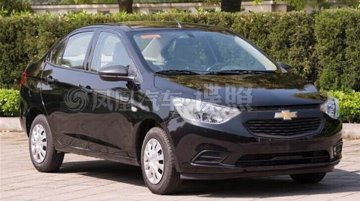 Spied - Chevrolet Sail facelift fully revealed in China