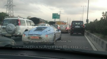 Spied - IAB reader snaps the DC Avanti on test