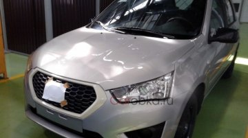 Russia - Not-for-India Datsun mi-DO hatchback spied without camouflage