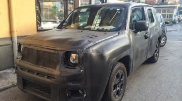 Spied - Not-for-India Fiat 500X mini SUV caught testing in Italy with Jeep Renegade's body