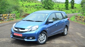 Honda Mobilio discontinued in India - Report