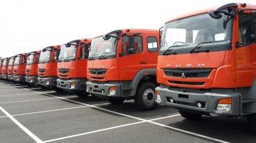 IAB Report - India-made FUSO trucks shipped to Indonesia