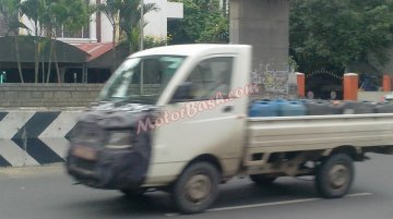 Spied - Mahindra Maxximo Plus facelift starts testing