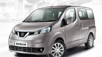 Production of the Nissan Evalia comes to a stop in India - Report