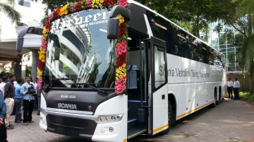 IAB Report - Scania delivers first Metrolink bus in Chennai; inaugurates dealership