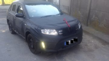 Spied - Not-for-India Suzuki iv-4 mini SUV snapped up close