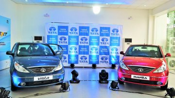 Philippines - Tata Vista and Manza diesel variants launched