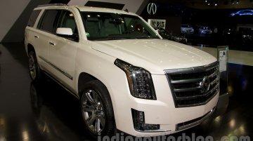 Moscow Live - 2015 Cadillac Escalade and ATS