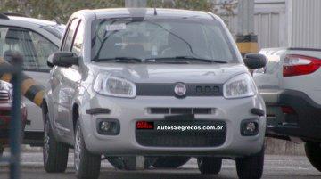 Brazil - 2015 Fiat Uno Attractive variant spied