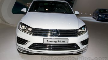Moscow Live - 2015 VW Touareg (facelift) & 2014 VW Scirocco (facelift)