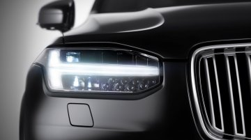 IAB Report - 2015 Volvo XC90 teaser shows the 'Thor's Hammer' daytime running lights