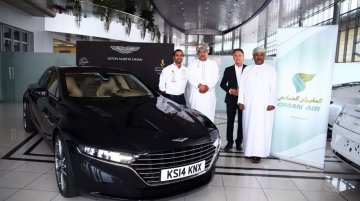 Spied - Aston Martin Lagonda sedan reaches the Middle East for hot weather testing