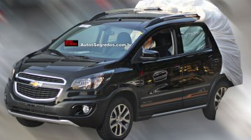 Brazil - Chevrolet Spin Activ with rough road kit spotted for the first time