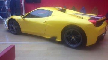 Spied - Ferrari 458 Speciale Spider undisguised, launches in Paris next week